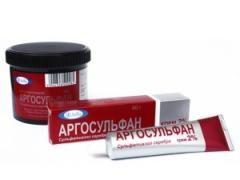Мазь аргосульфан допоможе при опіках і ранах