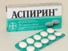Наскільки сильно шкодить прийом аспірину?